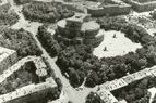 Opera theatre from above in late 1960th