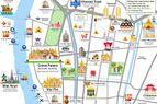 Bangkok Old Town Map
