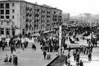 The opening of Sayat-Nova street - 1963