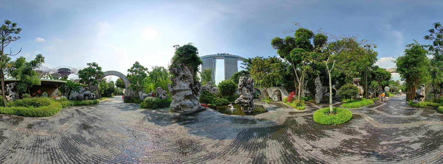 Marina Bay Sands SkyPark Observation Deck and Gardens By The Bay:Virtual Tour