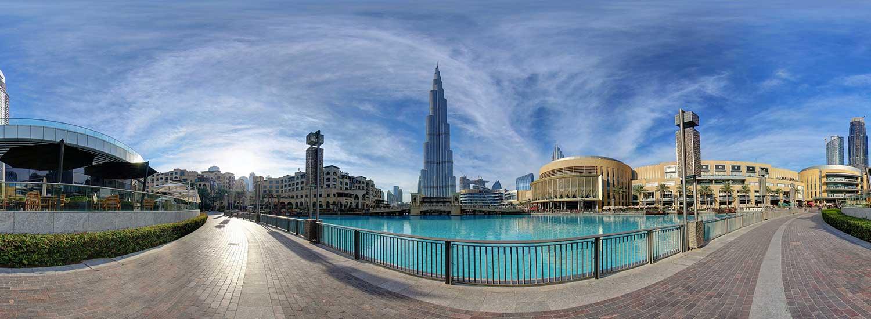 Modern Dubai's: Virtual tour: Burj Al-Arab and Burj Khalifa