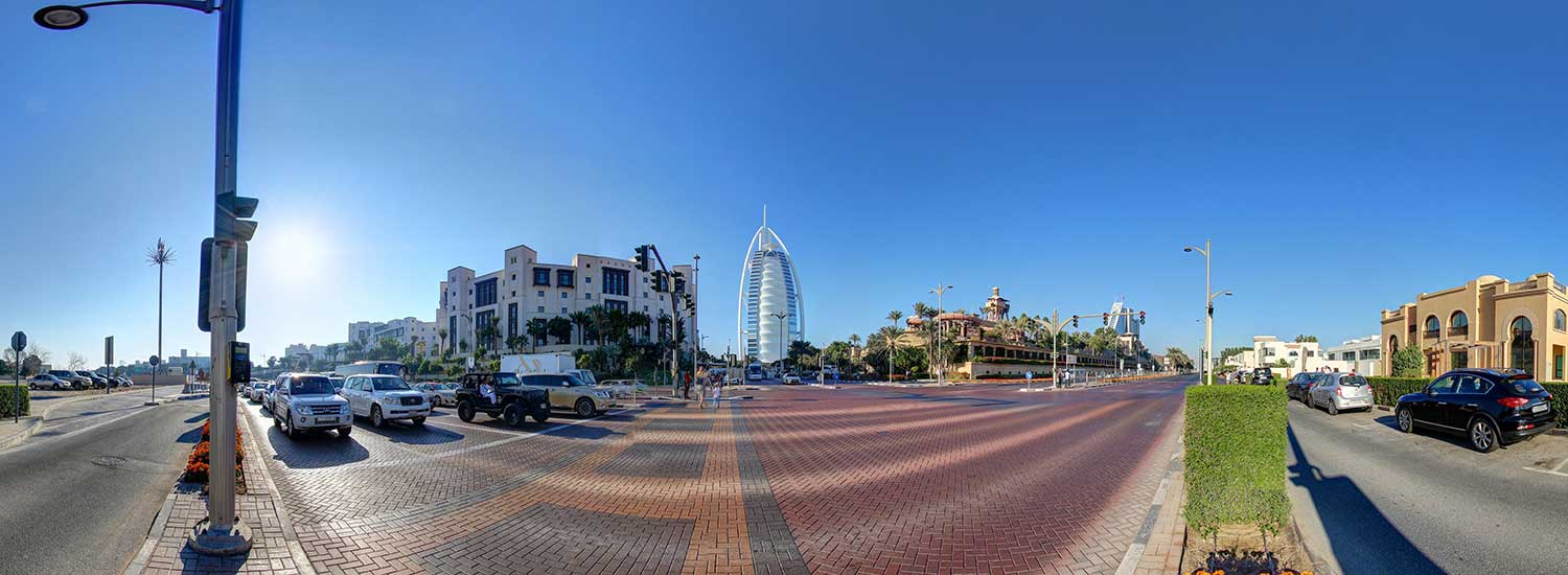 Modern Dubai's: Virtual tour: Burj Al-Arab and Burj Khalifa