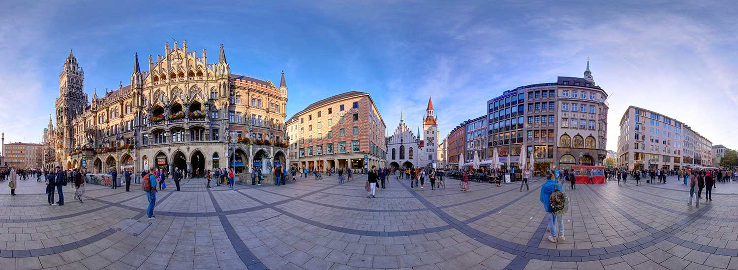 Munich Sightseeing Virtual Tour
