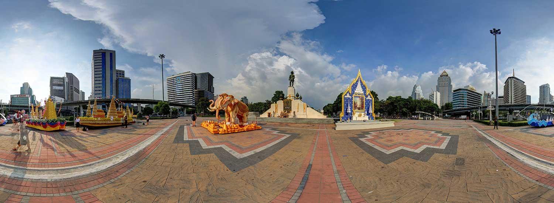 City Tour: Lumphini Park, Bangkok National Museum