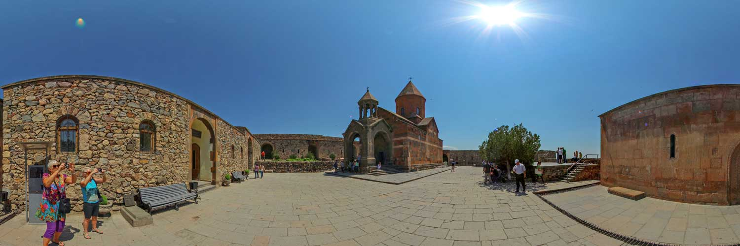 Virtual Tour to Khor Virap, Noravank and Tatev Monasteries